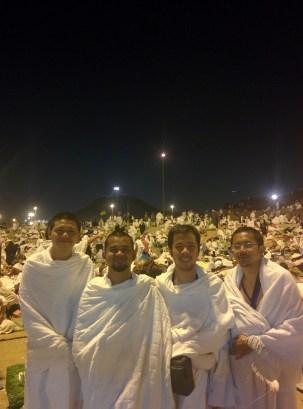 Staying one night at Musdalifag
