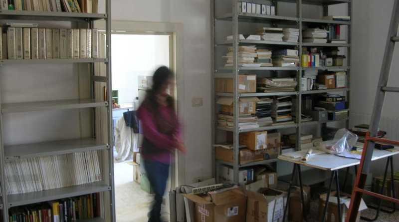 Sezione Recupero Media in allestimento, Novembre 2011