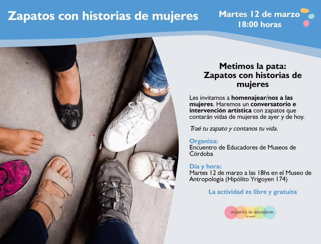 """""""Metimos la pata: zapatos con historias de mujeres"""""""