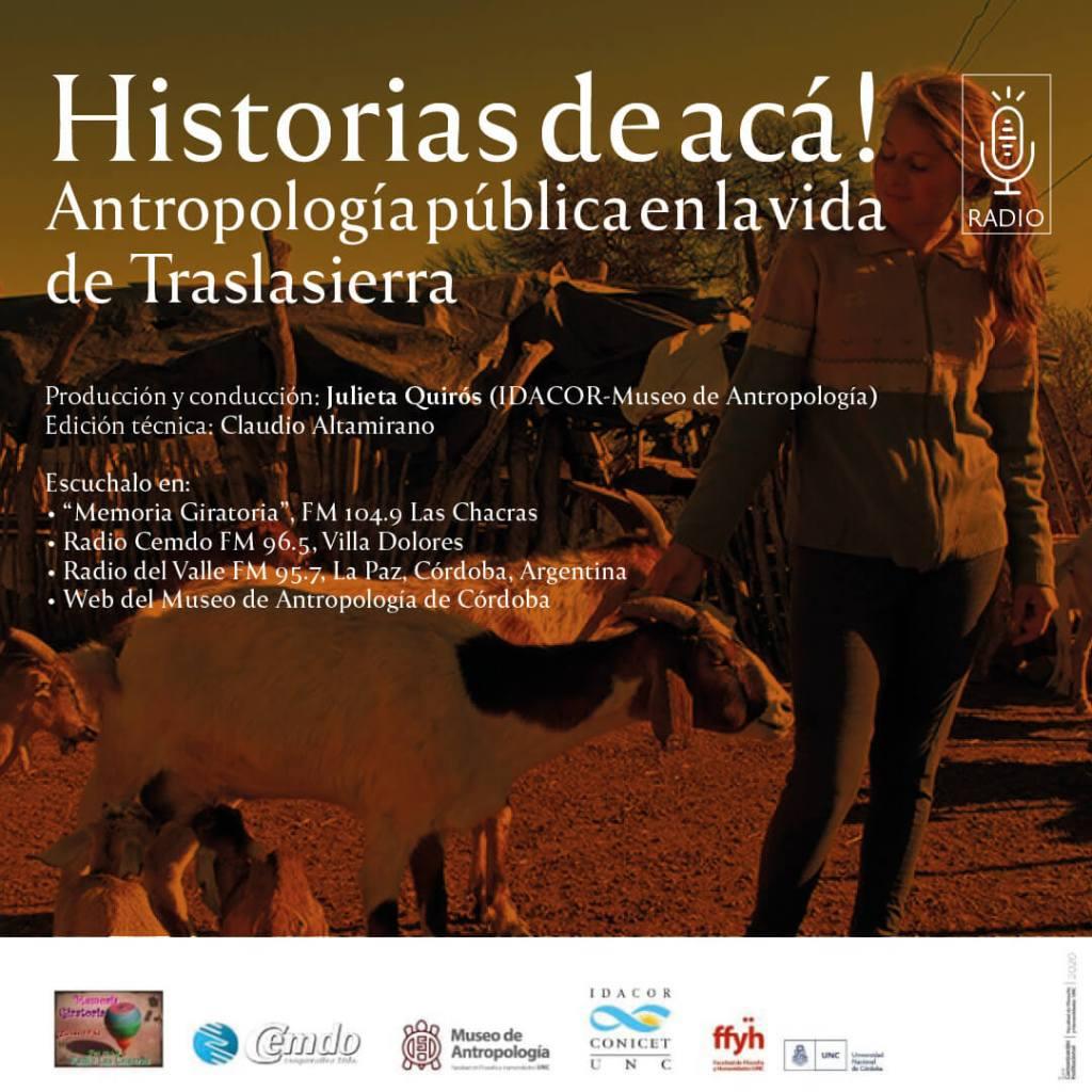 Historias de acá: Antropología pública en la vida de Traslasierra