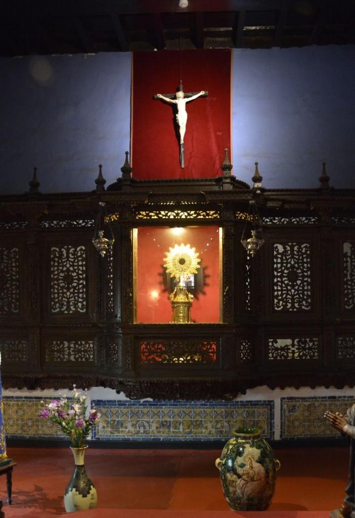 Sala Clementina o Sala de los Pontifes Franciscanos  Museo y Catacumbas de Lima