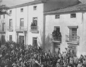 La casa de las columnas, lugar de nacimiento de Pascual Carrión