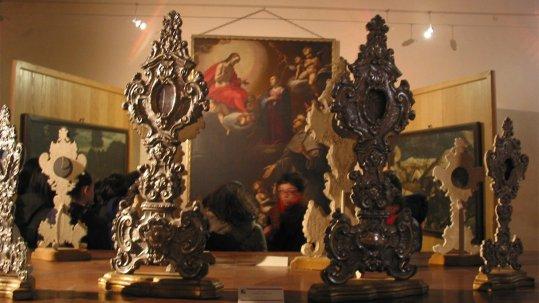 Pinacoteca di San Francesco, interno