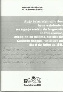 LOURENÇO, Luis Norberto. Auto de arrolamento ... [texto impreso]