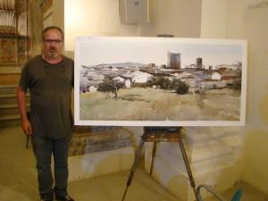 El Primer Premio de la III Edición del Certamen fue para el pintor cacereño Federico Plasencia Chacón