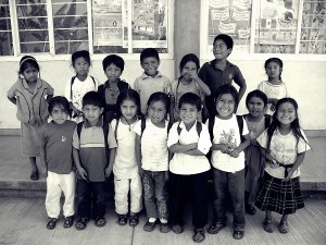 Escuela primaria San Juan Juquila. Vijanos. Sierra Juárez. Oaxaca (México). Andrea Núñez
