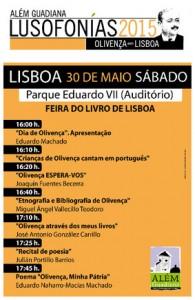 Programa de las Lusofonías 2015 en Lisboa