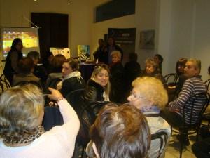 """Museo Etnográfico """"González Santana"""". Olivenza. Extremadura Un momento del debate"""