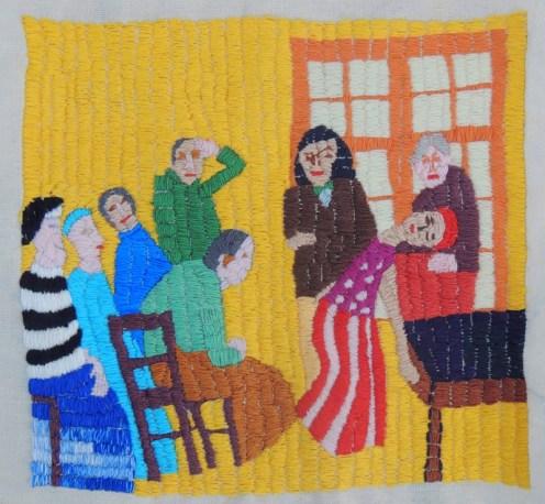 MARIANA ROBLES Charcot y sus discipulos en una sesión de hipnosis