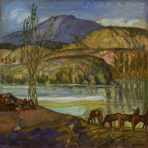 Rincón del Ebro. ID 079. Corpus Online Museo Gustavo de Maeztu