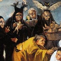 """Las mejores pinturas de Goya en el Museo Lázaro Galdiano (2): """"Las Brujas"""""""