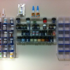 Build a Paint Rack on the Cheap