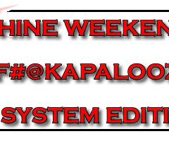 Cluster F#@kapalooza: Crippled System edition