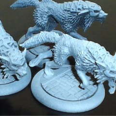 Baffo's Sculpting Table 13 – Warwolves and Laris