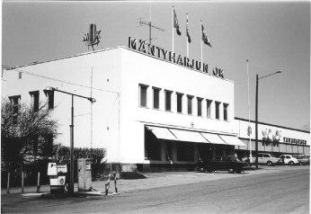 Mäntyharjun Sokos vuonna 1980. Kuva: Mäntyharjun museo, kuvaaja: Hannu Heilio.
