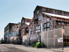 Abandoned buildings - Port of San Francisco