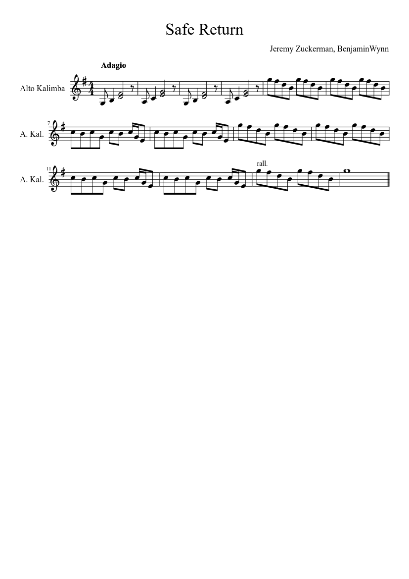 Avatar Closing Credits Song : avatar, closing, credits, Return, Avatar:, Airbender, Sheet, Music, Kalimba, (Solo), Musescore.com