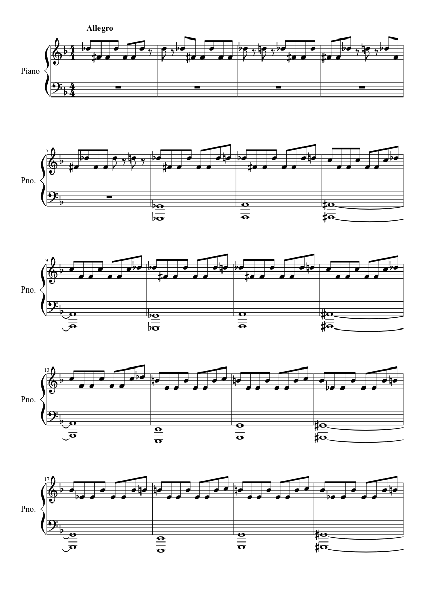 Michael Myers Theme Song Piano Notes : michael, myers, theme, piano, notes, Halloween, Theme, Recreated, Sheet, Music, Piano, (Solo), Musescore.com