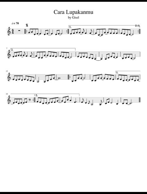 Cara Lupakanmu Chord : lupakanmu, chord, Lupakanmu, Cover, Penggambar