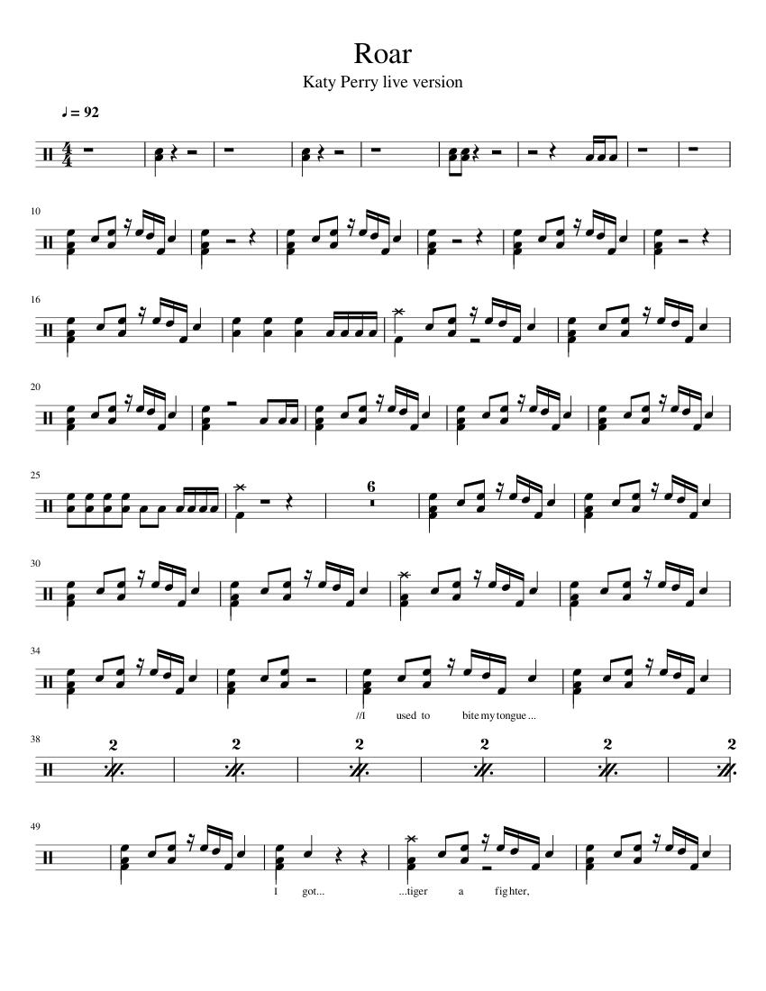Tongue Drum Sheet Music