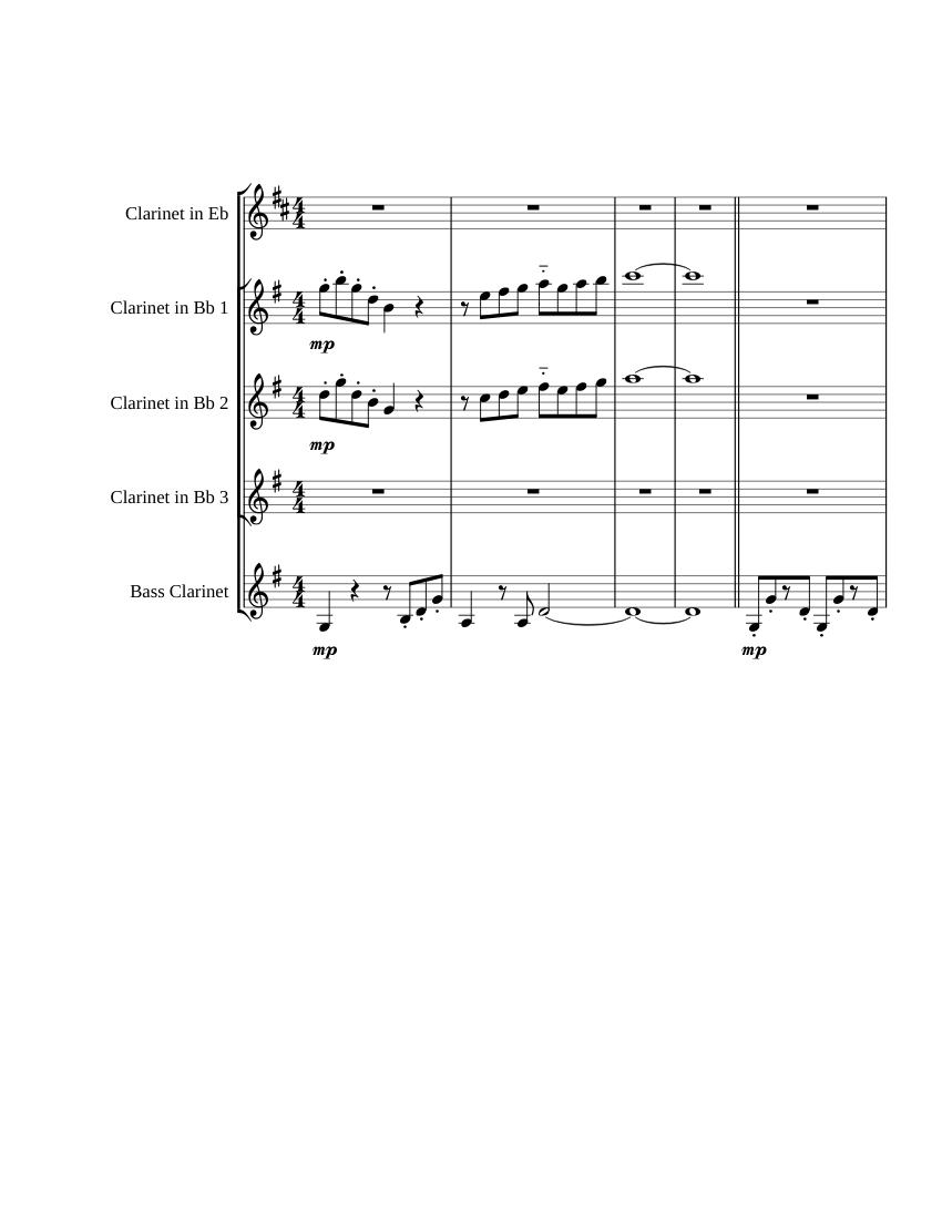 medium resolution of outset island for clarinet ensemble