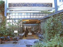 10 Corso Como, Milan. Discreetly famous, and arguably the most discerning lifestyle store in the world? Half way between my hotel and my meeting.