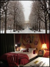 Back to Vienna, snowbound and looking beautiful a few days before Christmas 2016, and staying at the excellent, eccentric 25 Hours Hotel.