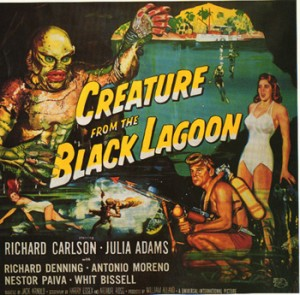 The Creature from the Black Lagoon Universal Horror