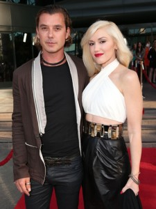 "Gavin Rossdale and Gwen Stefani attend the LA premiere of ""The Bling Ring"" at the Director's Guild of America on Tuesday, June 4, 2013 in Los Angeles. (Photo by Todd Williamson/Invision/AP)"