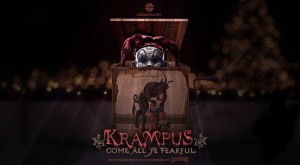 Pittsburgh's ScareHouse collaborates with LEGENDARY to unleash two terrifying haunted attractions based on the upcoming film KRAMPUS and iconic Halloween classic TRICK 'r TREAT beginning Friday, September 18 (PRNewsFoto/ScareHouse)