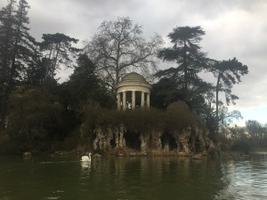 The Temple of Love at Lake Daumesnil