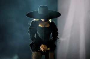 PASADENA, CA - MAY 14: Beyonce performs during the Formation World Tour at the Rose Bowl on Saturday, May 14, 2016, in Pasadena, California. (Photo by Frank Micelotta/Parkwood Entertainmen