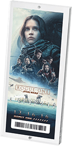 ATOM tickets Rogue One A Star Wars Story Ticket