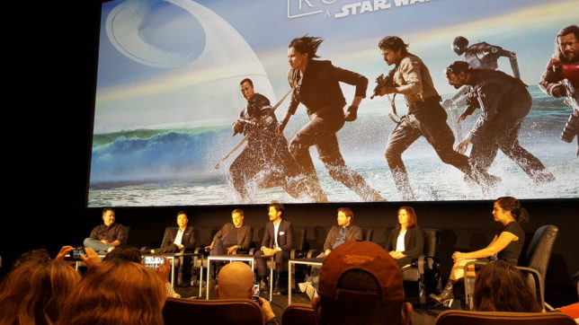 Rogue One Press Conference at Skywalker Ranch