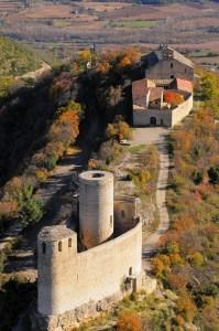 Castell de Mur i Sta. Maria de Mur. Pallars Jussà.