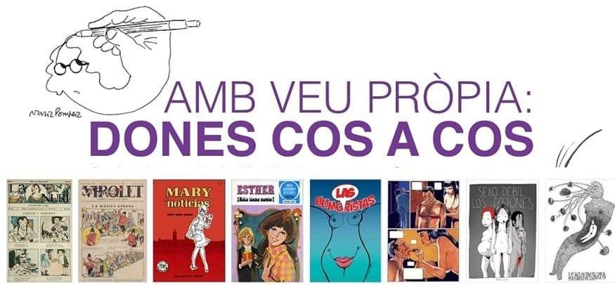 """Exposición """"Con voz propia: mujeres cuerpo a cuerpo"""" (Museo del comic)"""