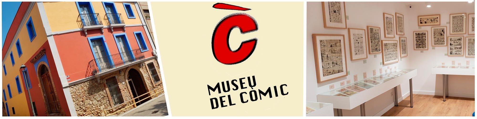 Museo del cómic: museo y colecciones