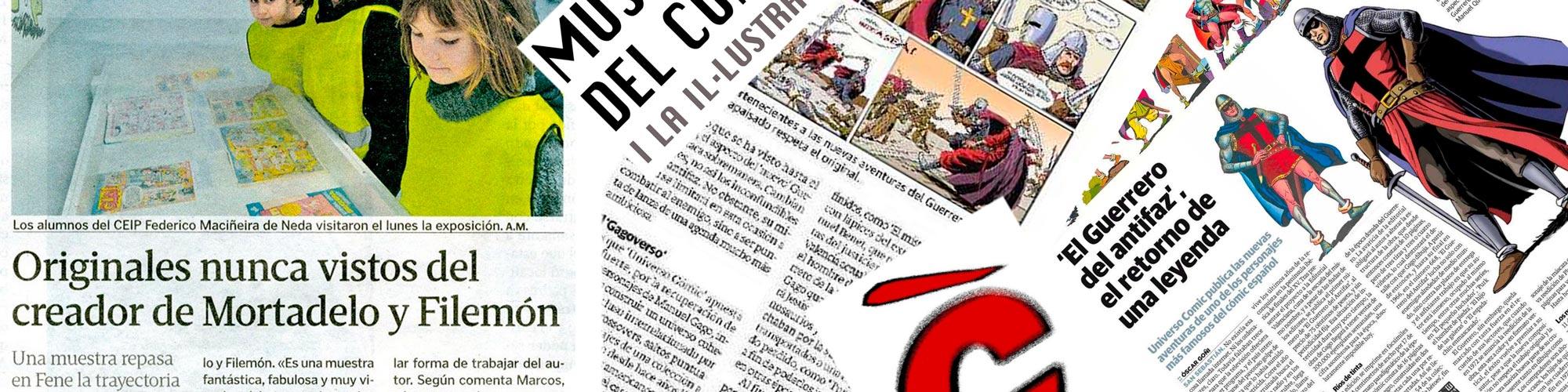 Museo del cómic: noticias