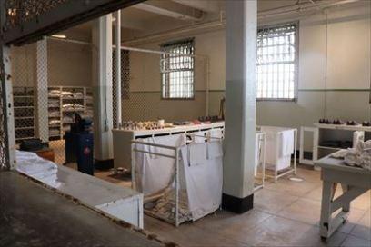 作業場の一つ。ここは洗濯場