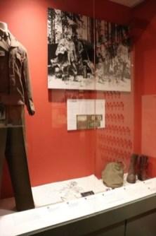 ヨーロッパ戦線でその戦いぶりで多く死傷者を出したの日系人部隊442連隊に関する展示
