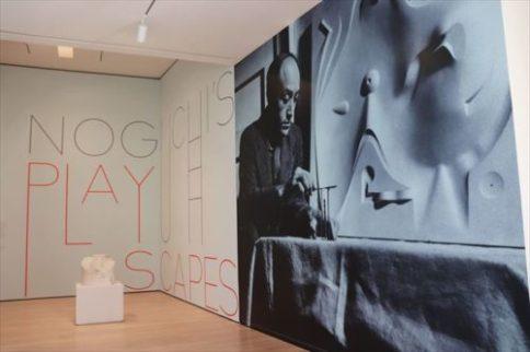 イサム・ノグチの展示もありました