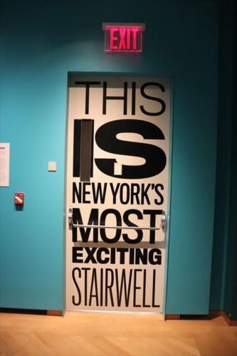 ニューヨークで一番エキサイティングな階段ってどんな階段なんでしょう!?