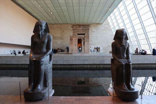 エジプト美術もとても充実していました