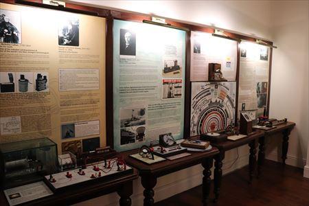アイルランド出身の科学者に関する科学館的な展示もあります