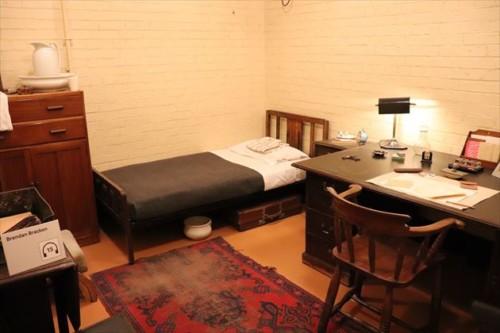 チャーチルの寝室