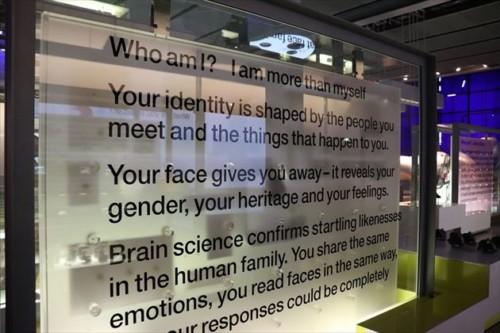 人体や人間に関する展示