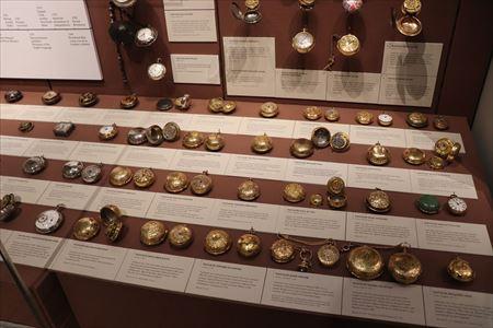 時計の展示