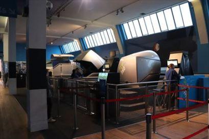 大型館でしばしば見かけるゲームセンター的なフライト・シミュレーター