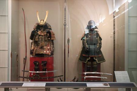 日本の展示といえば、武具甲冑です