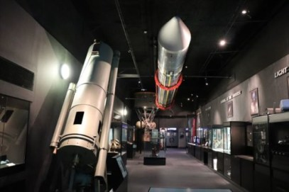 宇宙や天文に関する展示